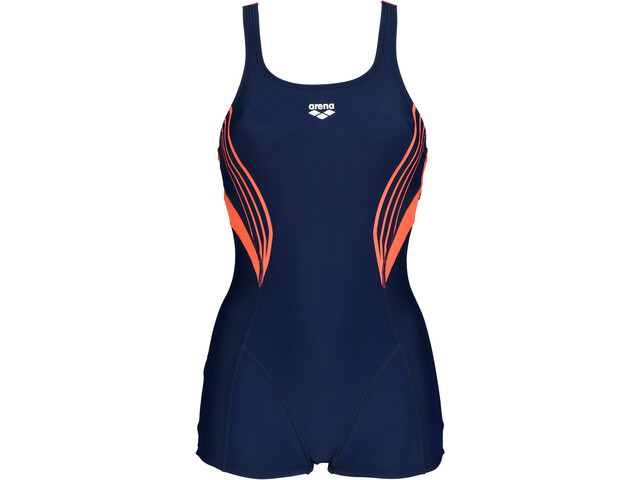 arena Kaori Combinaison Swimsuit Women navy/floreale